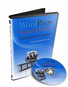 WordPress Course DVD